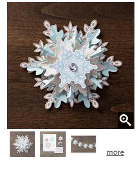 Festive flurry ornament kit 2013-2